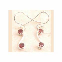 Incredible Cocktail Garnet Earrings