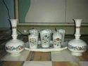 Marble Handicraft Glass & Pot