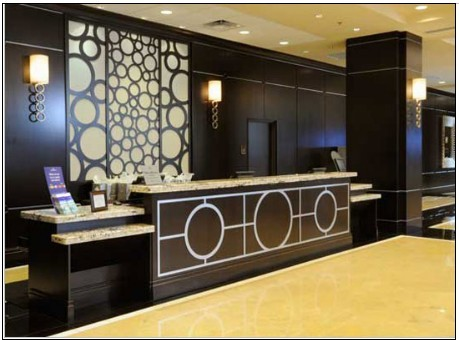 Hotel Reception Counter