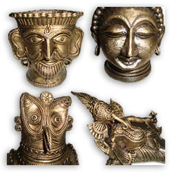 Brass Dokra Artifact