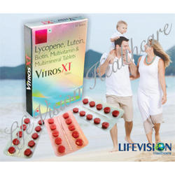 Lycopene Lutein Biotin Multivitamin & Multiminerals Tablets