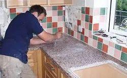 Granite Fitting Service (Red Granite)