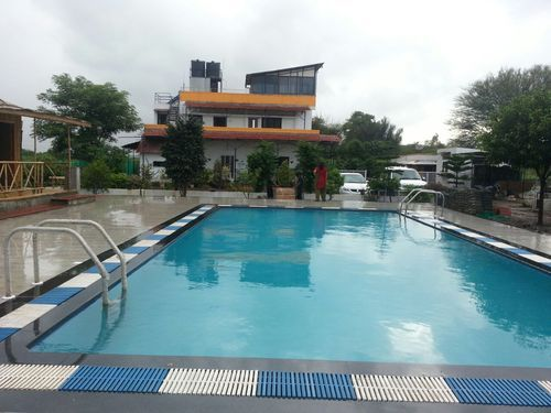 Farm house pool farm house swimming pools for residential - Prefab swimming pools cost in india ...