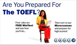 TOEFL iBT (Test Of English As A Foreign Language)