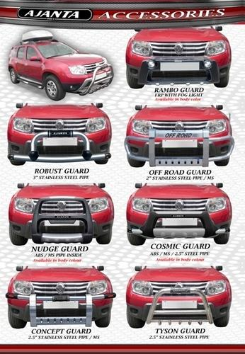 Renault Duster Front Guards Duster Accessories Renault