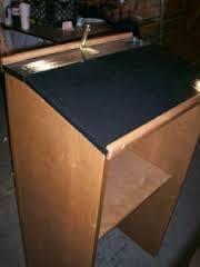 Podium Wooden Flooring