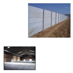 Boundary Walls for Warehouses