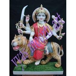 Goddess Durga Mata Marble Statues