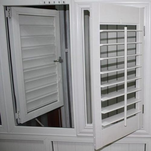 UPVC Louver Shutter Window