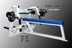Plate Loader Flat Bench