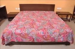 Kantha Paisley Bed Cover