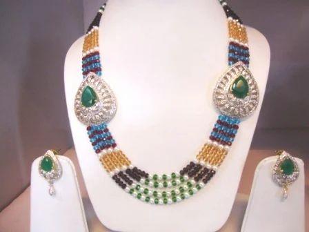 Side pendant necklace side pendant set shri ambika udyog jaipur side pendant necklace mozeypictures Images