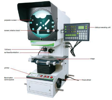 Measuring Tools And Instruments Profile Projector