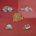 Lamp Work - Flame Working Glass Tiny Turtle - Glass Tortoise