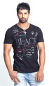 Small Cotton Mens Round Neck T Shirt