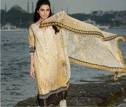 Designer Printed Embroidered Pakistani Suits Long Salwar