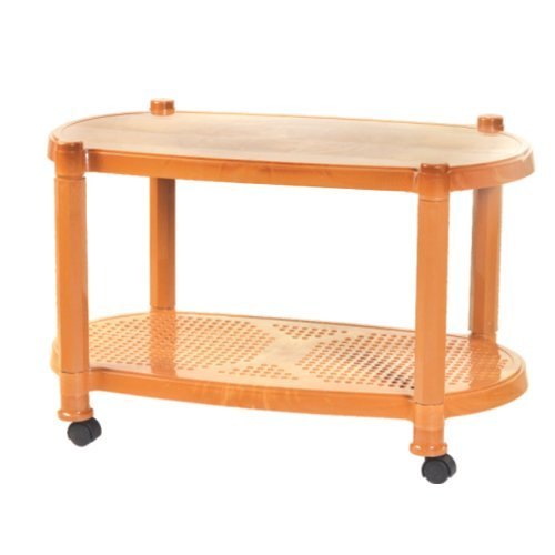 Plastic Center Tables Trolley Style Center Table
