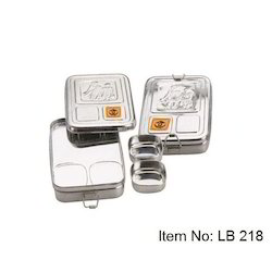 c81f390732 Stainless Steel Lunch Box in Chennai, Tamil Nadu | Stainless Steel ...