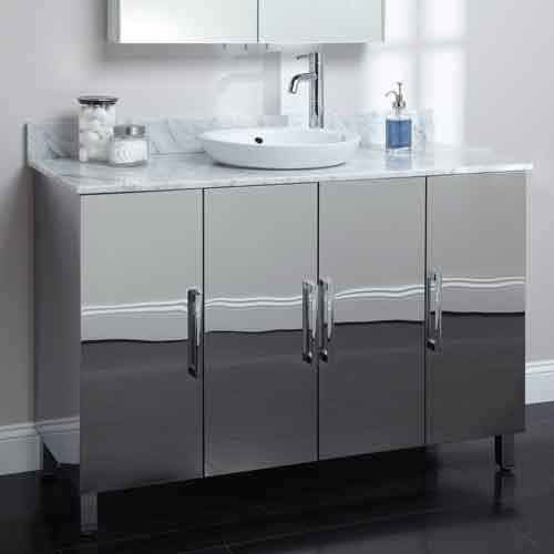 Stainless Steel Vanity Ss Latest Price Manufacturers