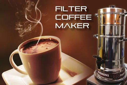 Traditional Gemini Filter Coffee Maker
