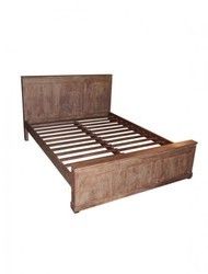 Wooden Bed (6016)