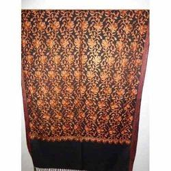 Designer Wool Embroidered Stoles