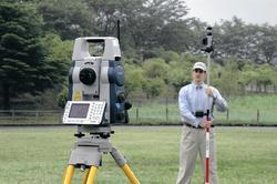 Robotic 5X Total Station