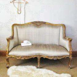 French living room sofa