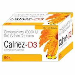 Cholecalceferol 60000 I.U Soft Gel Capsule