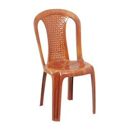 High Back Plastic Chair without Arms