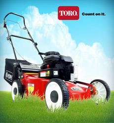 Red Petrol Lawn Mower, 40