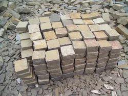 Tandoor Yellow Limestone Cobbles