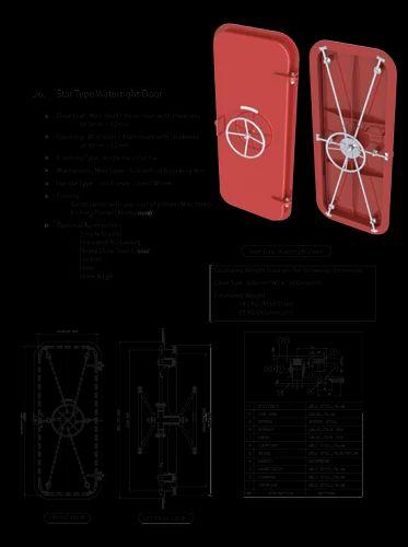 Doors Dog Clip Weathertight Door Manufacturer From Bhavnagar