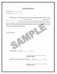 Affidavit in Chittaranjan Park, New Delhi | ID: 6999727248