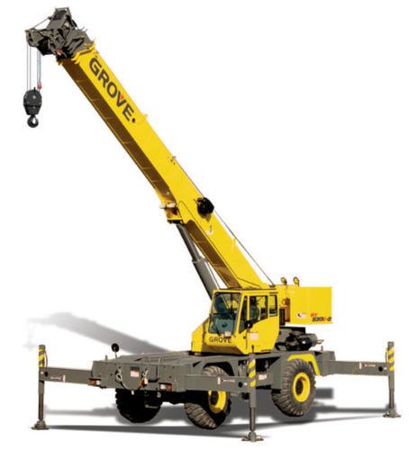 Rigante Telescopic Mobile Cranes : Alpine equipments new delhi service provider of cranes