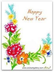 New year greeting card manufacturers suppliers in india new year cards m4hsunfo