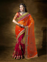 Georgette Wedding Wear Indian Designer Saree