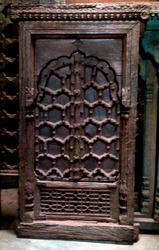 Antique Carved Window