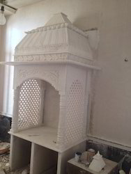 Indoor White Marble Temple, for Home