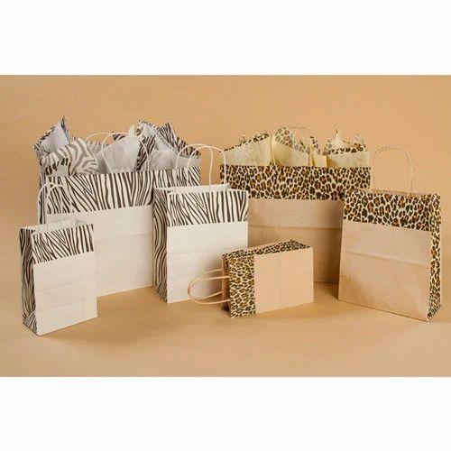 Digital Print Kraft Paper Bag