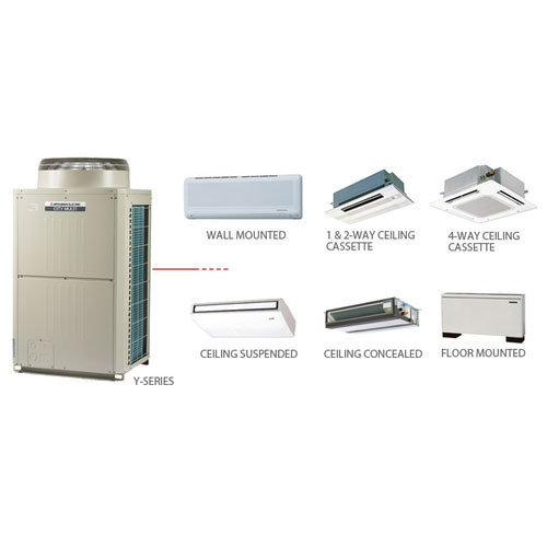 Ceiling Cassette and VRF System - Mitsubishi VRF System