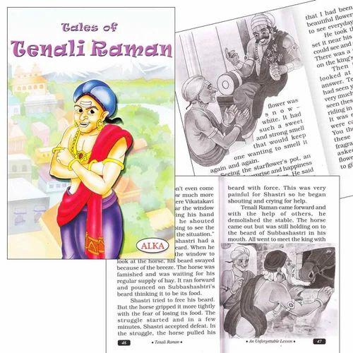 Alka Tales Of Tenali Raman Story Book