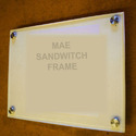 Sandwich Frame