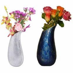 Enamelled Flower Vase