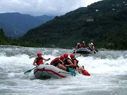 Camping & River Rafting Tours Package
