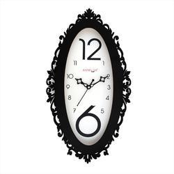 Oval Wooden Premium Clock