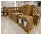 Constructed Godowns For Safe Storage And Transshipment