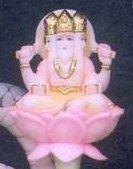 non branded Silver Brahma Statue