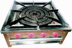 4 Ring Burner - Gas Range