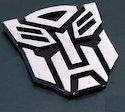 Transformer 3d Car Stickers Pvc H Shape